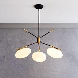 Champignon 3-Light Chandelier