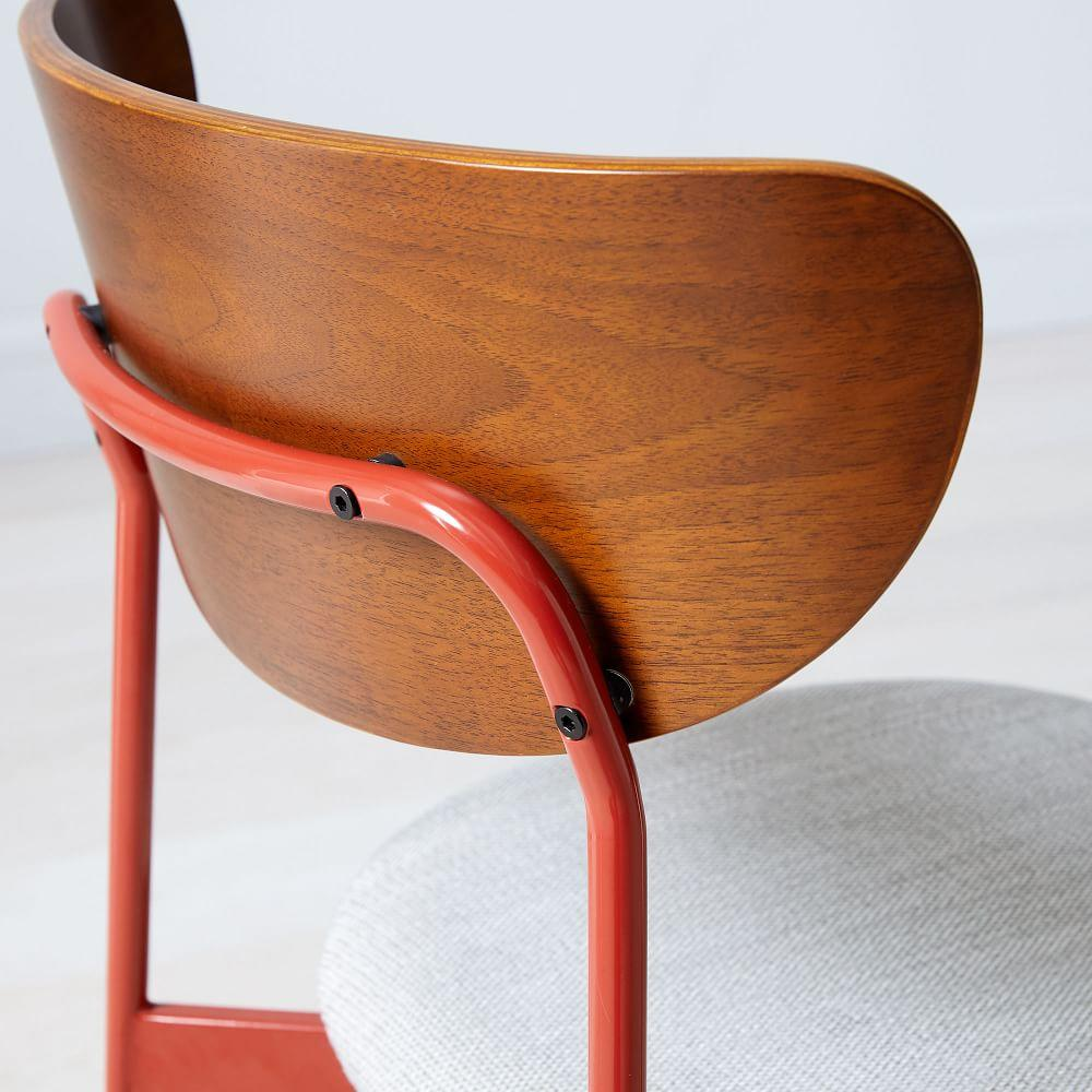 Modern Petal Upholstered Dining Chair