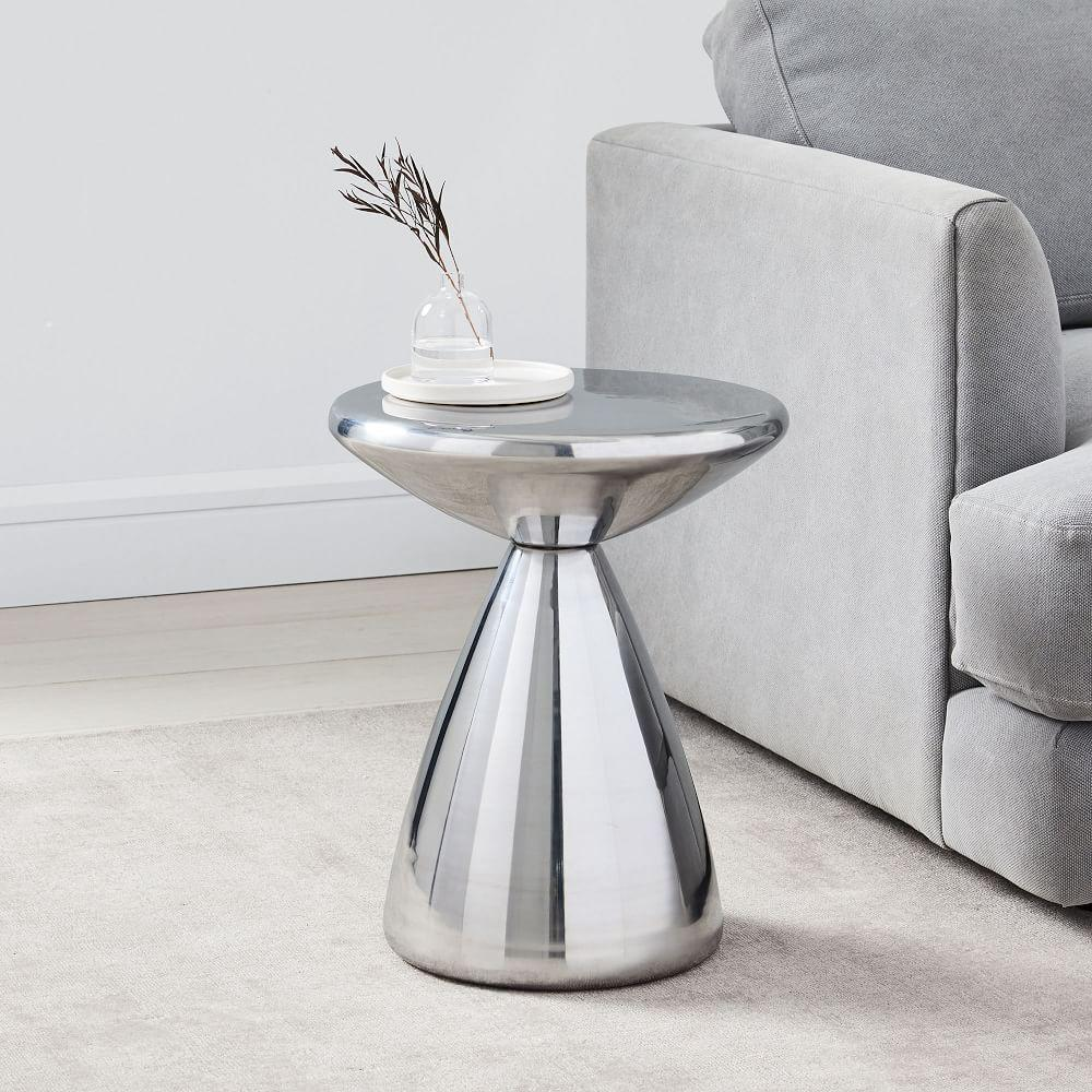 Cosmo Side Table - Silver