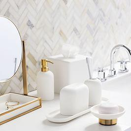 Modern Resin Stone Bathroom Accessories