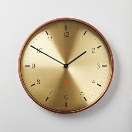 Mr. Clarke Clock - Medium (Brass)