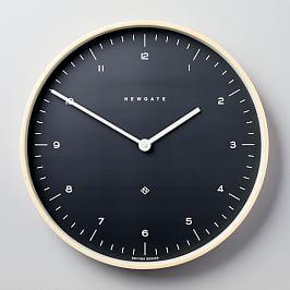 Mr. Clarke Clock - Large (Oil Grey)