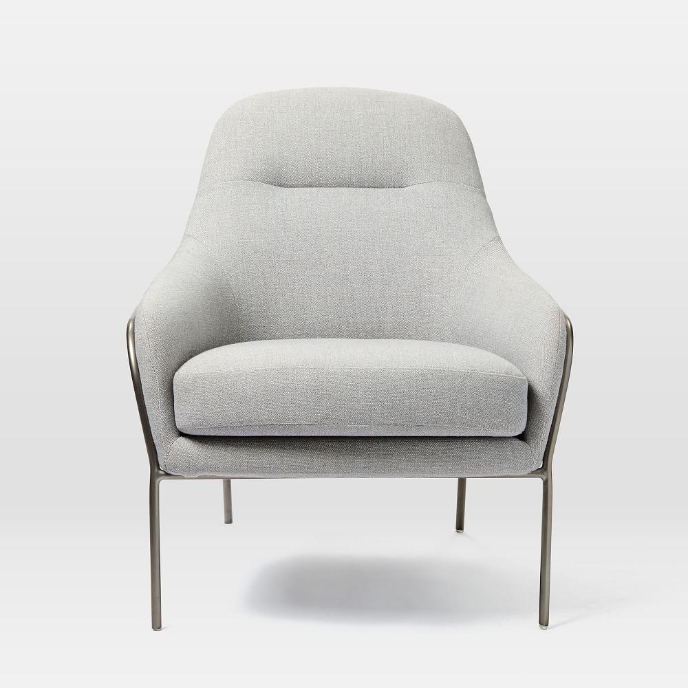 Valentina Chair - Twill (Platinum)