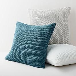 Cotton Knit Cushion Cover