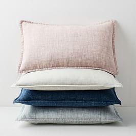 Belgian Flax Linen Lumbar Cushion Covers