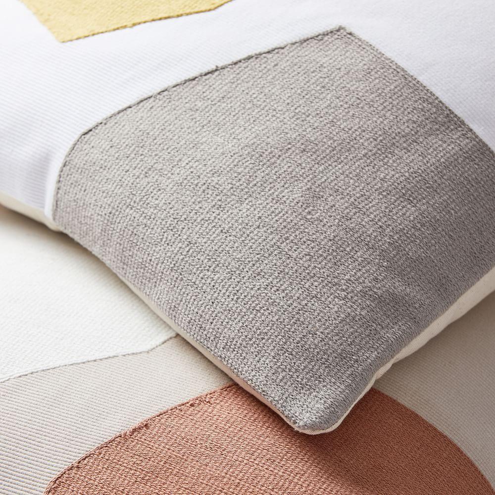 Corded Minimalist Geo Cushion Cover