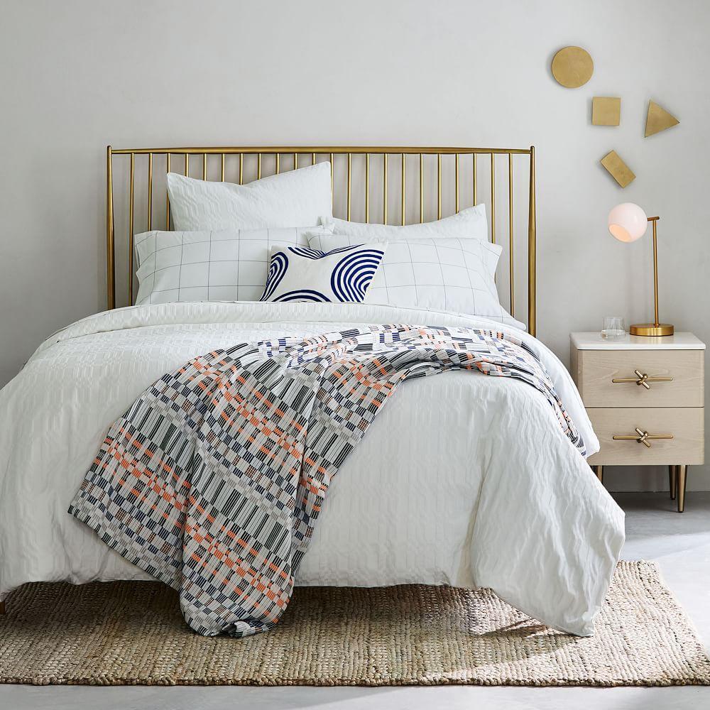 Organic Cotton Ribbon Stripe Blanket
