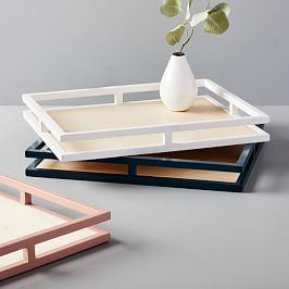 Wood + Glaze Trays