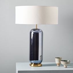 Ellipse Glass Table Lamp