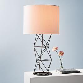 Amigo Modern Octahedron Table Lamp
