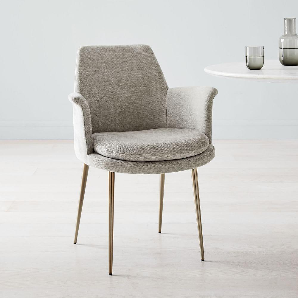 Finley Wing Velvet Dining Chair