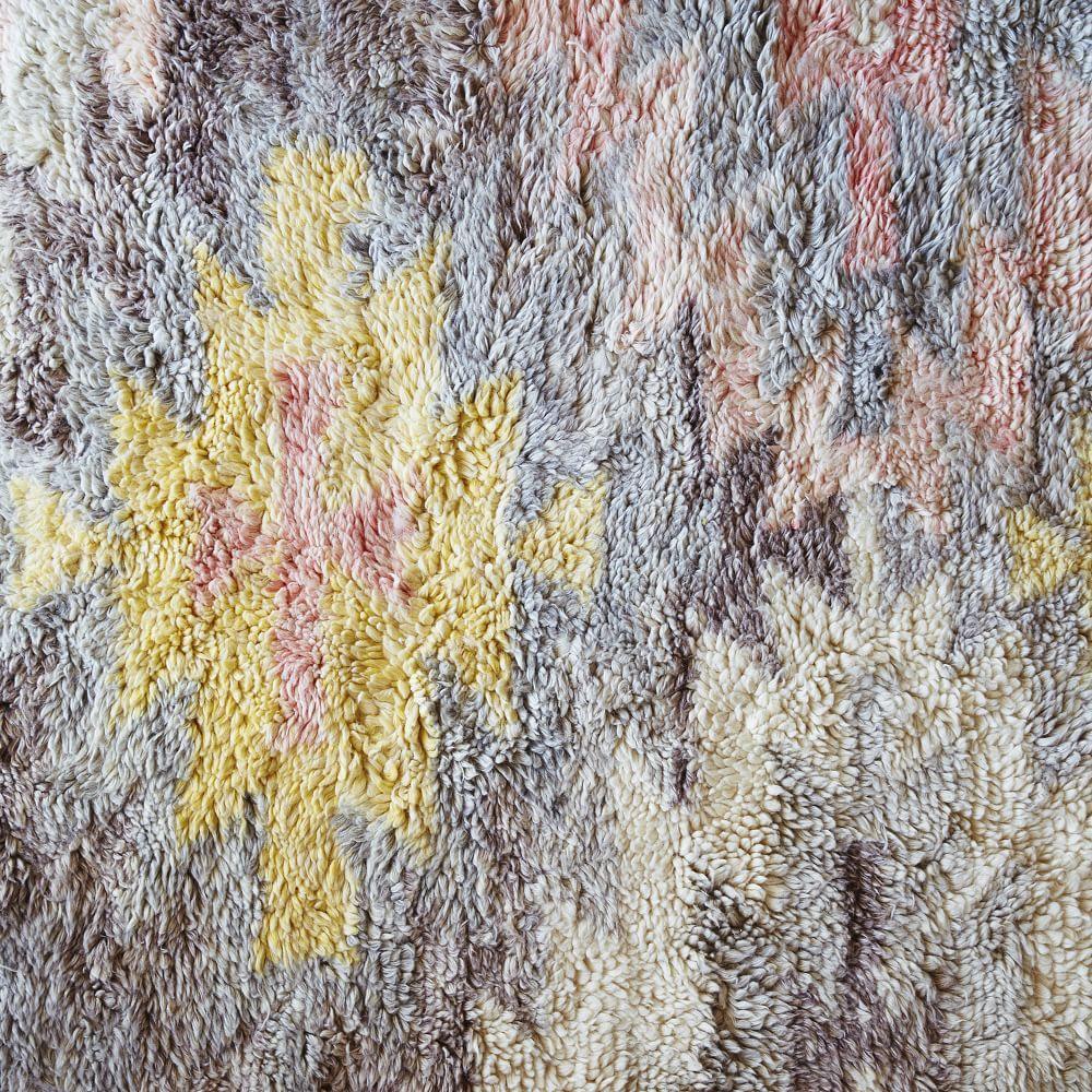 West Elm Pebble Rug Review: Ashik Wool Rug - Multi