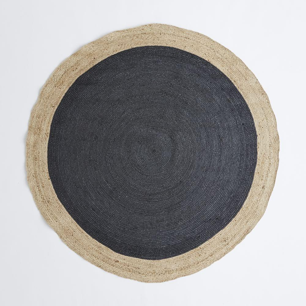 products natural car rr alcia jute rug round