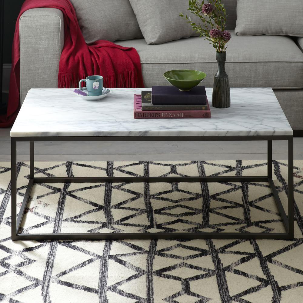 Box frame coffee table marble west elm australia for Coffee table texture