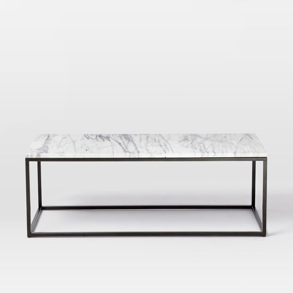Box Frame Coffee Table Marble West Elm AU