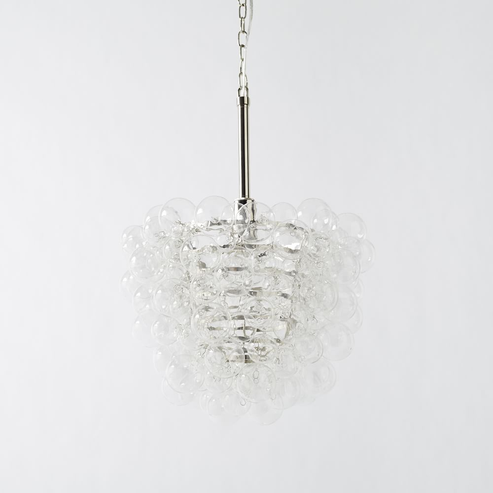 Droplet glass chandelier west elm au droplet glass chandelier mozeypictures Image collections