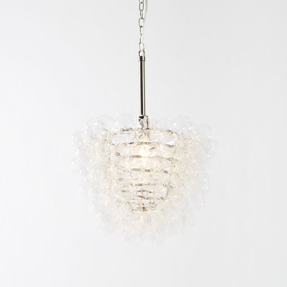 Droplet glass chandelier west elm au droplet glass chandelier mozeypictures