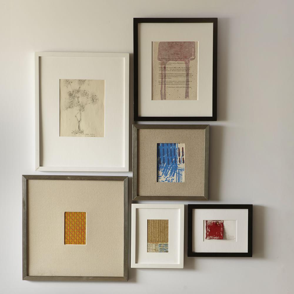 Gallery Frames - Black   west elm Australia