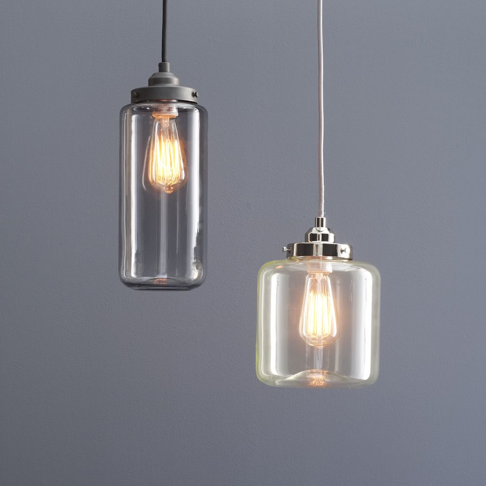 Glass Jar Pendant West Elm AU