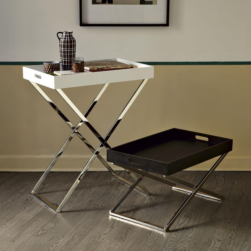 Low Butler Tray Stand
