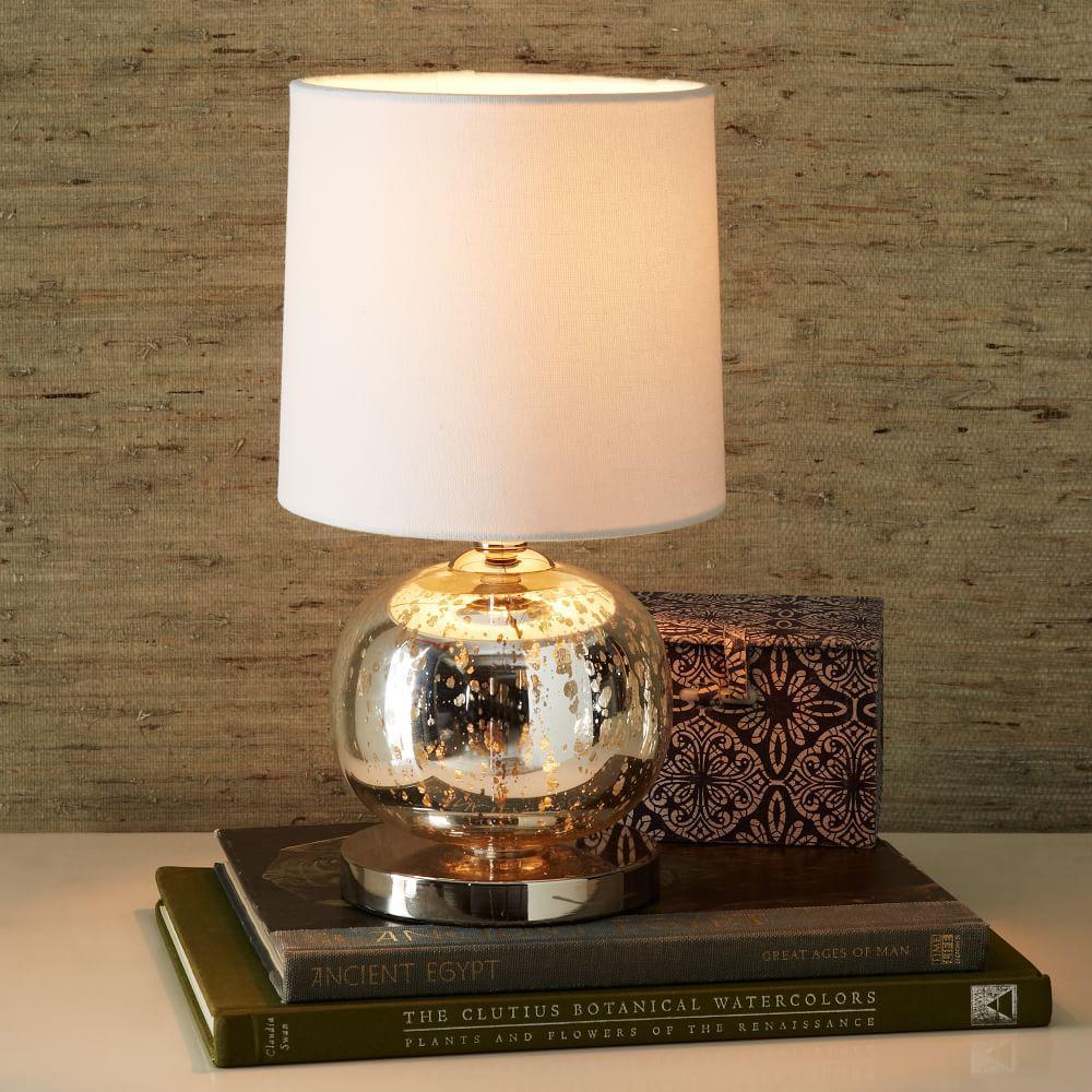 Mini Abacus Table Lamp Mercury West Elm Australia