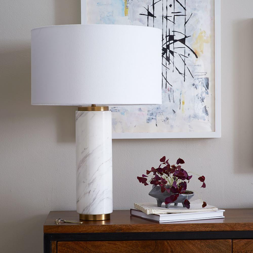 lamp marble snow noah