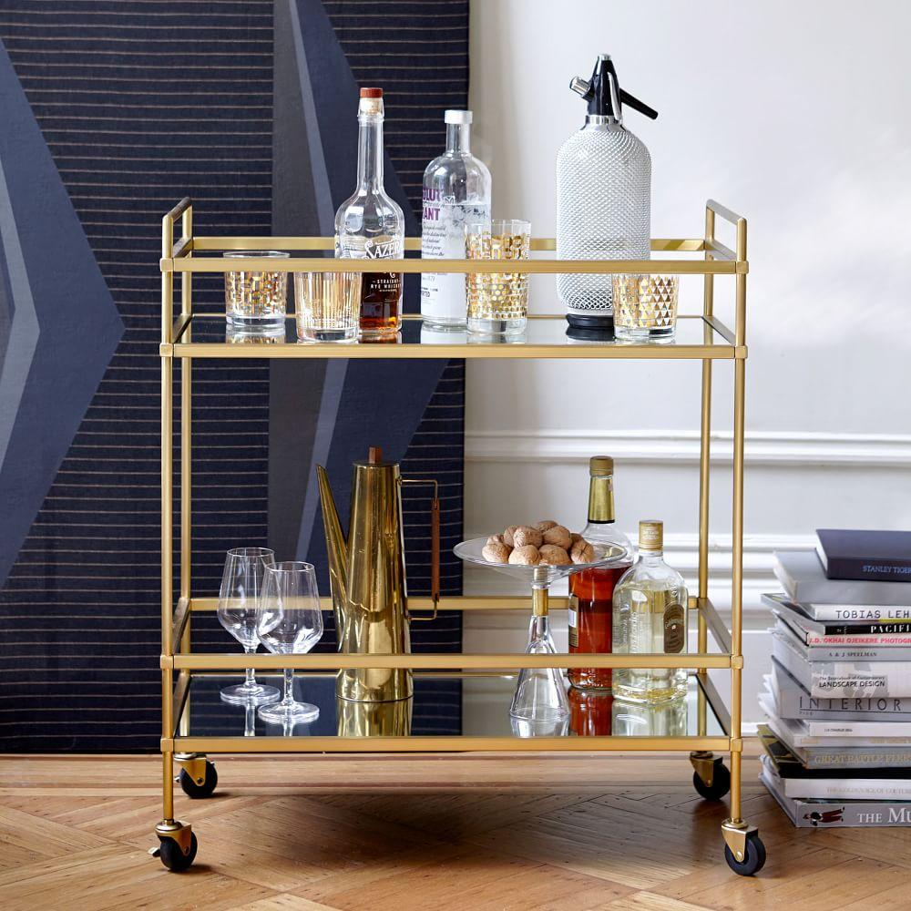 Terrace Bar Cart West Elm Australia
