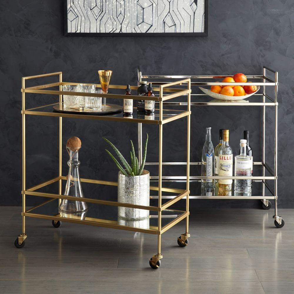 terrace bar cart west elm au