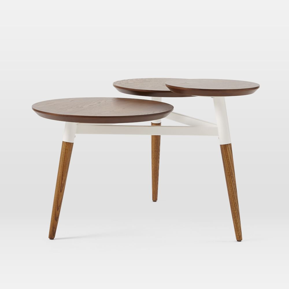 Homcom 40 Mid Century Modern Wooden Coffee Table With: Modern Furniture, Home Decor & Home Accessories