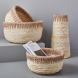20% Off Baskets + Storage Solutions