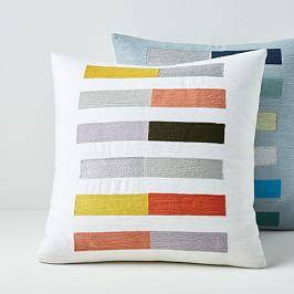 Crewel Colour Study Cushion Covers