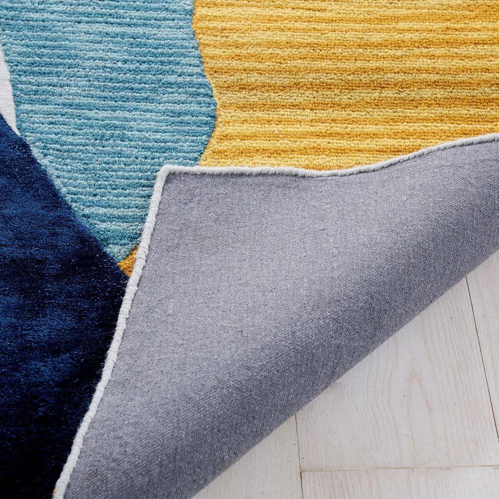 Collage Frond Shaped Rug