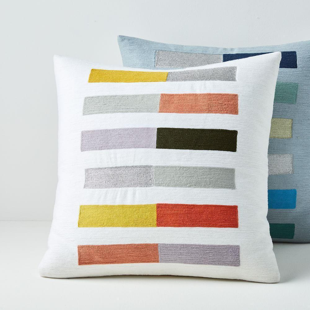 Crewel Colour Study Cushion Covers