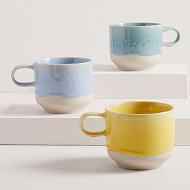 Drip Glaze Mugs