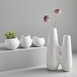 Linked Ceramic Vases