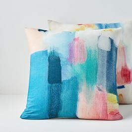 Modern Watercolour Cushion Covers