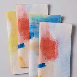 Painted Meadow Napkins (Set of 4)