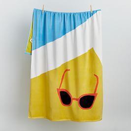 Organic Sunglasses Beach Towel