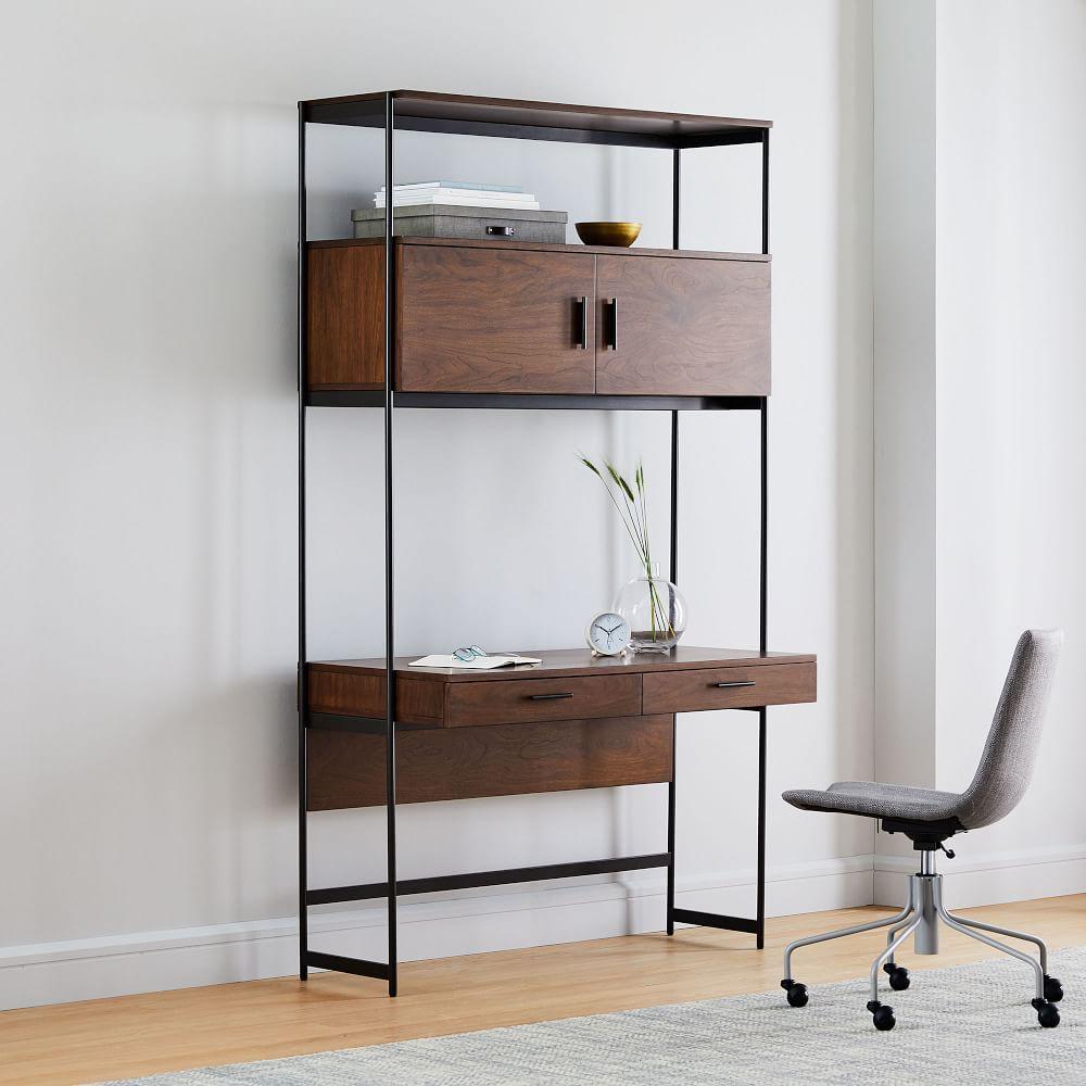 Foundry Desk - Dark Walnut