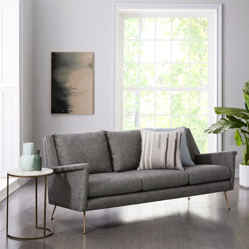 Carlo Mid-Century Sofa (197 cm)