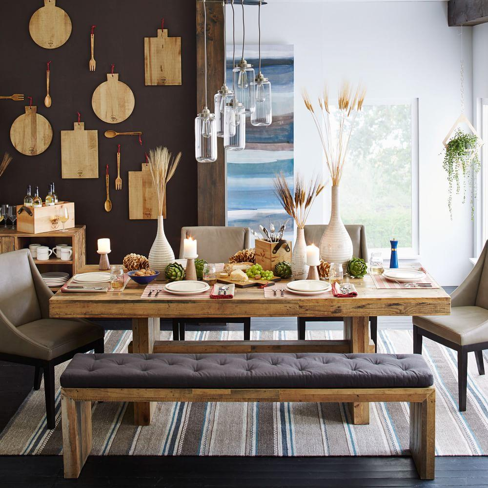 Emmerson 226 162 Reclaimed Wood Dining Table