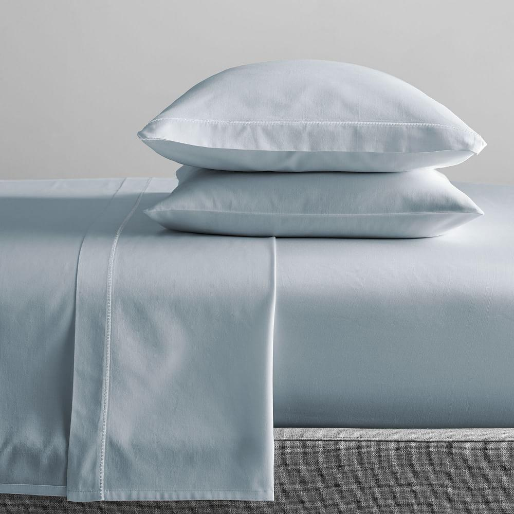 400-Thread-Count Organic Sateen Sheet Set