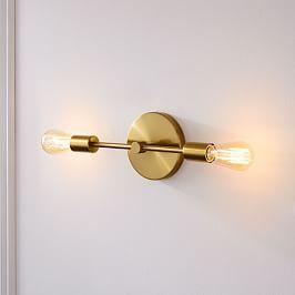 Mobile Sconce, 2Light, Individual