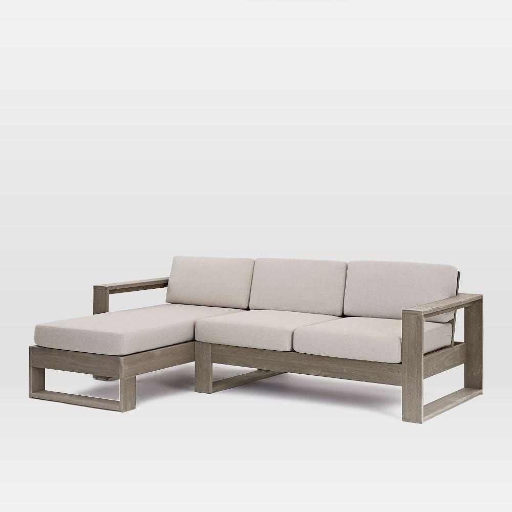 Portside Outdoor 2-Piece Sectional