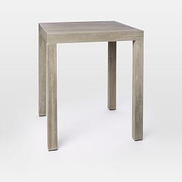 Portside Outdoor Counter Table - Weathered Grey