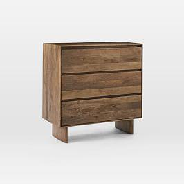 Anton Solid Wood 3-Drawer Dresser