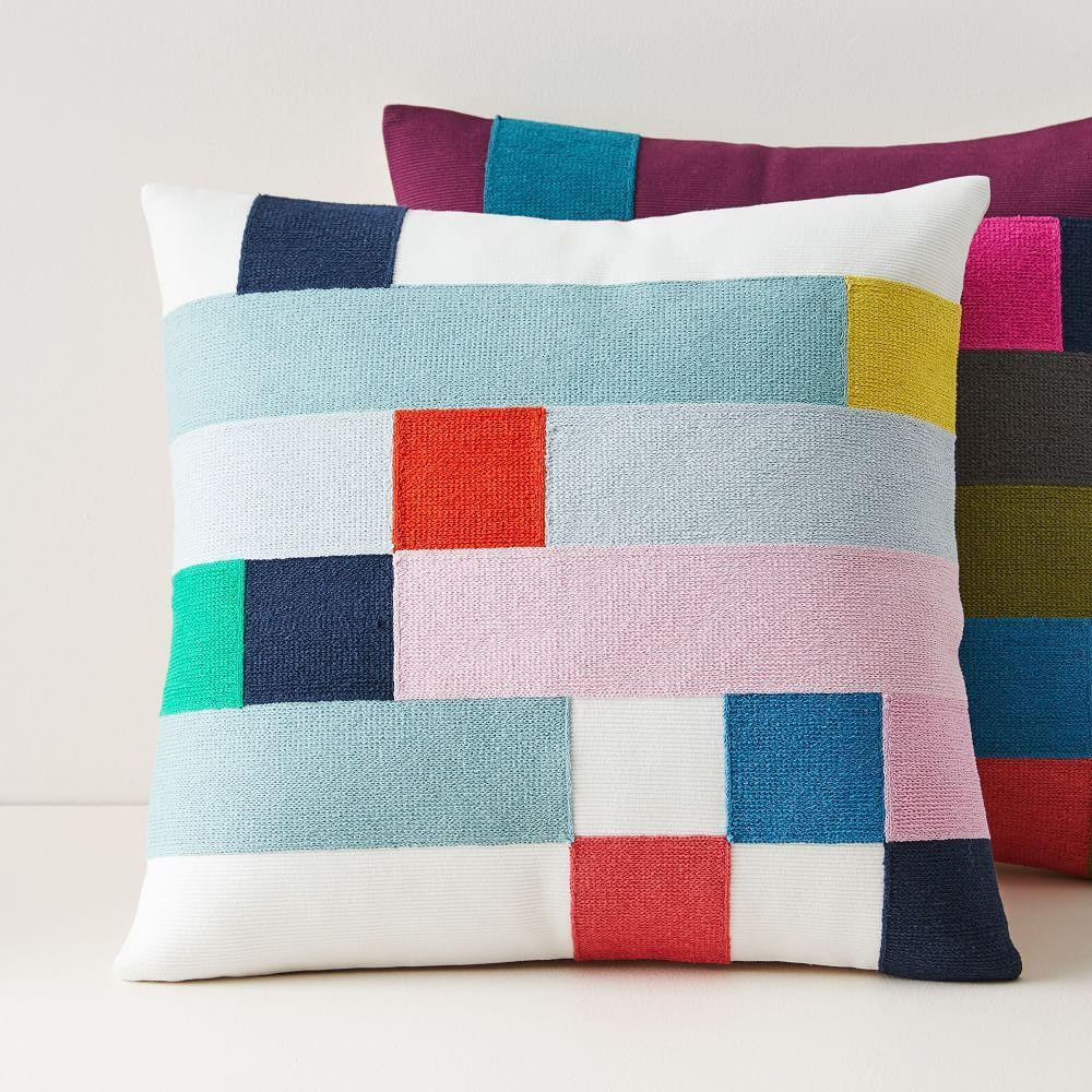 Margo Selby Mix Squares Cushion Covers