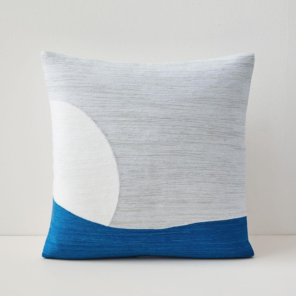 Crewel Peekaboo Cushion Cover