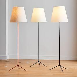 Tapered Shade Floor Lamps (157 cm)