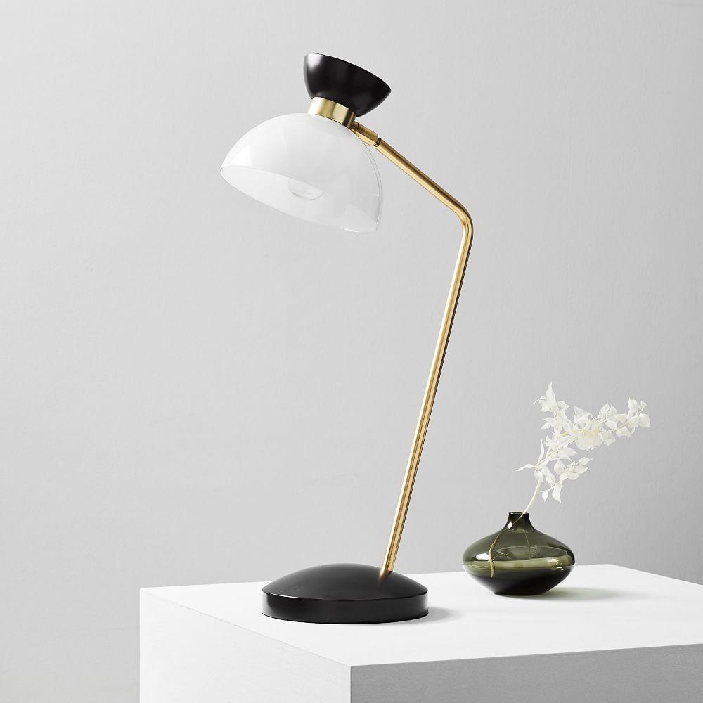 Hourglass Task Table Lamp Usb West Elm Australia